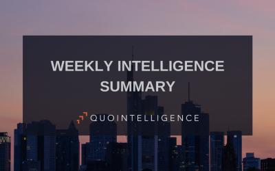 Weekly Intelligence Snapshot – Week 15