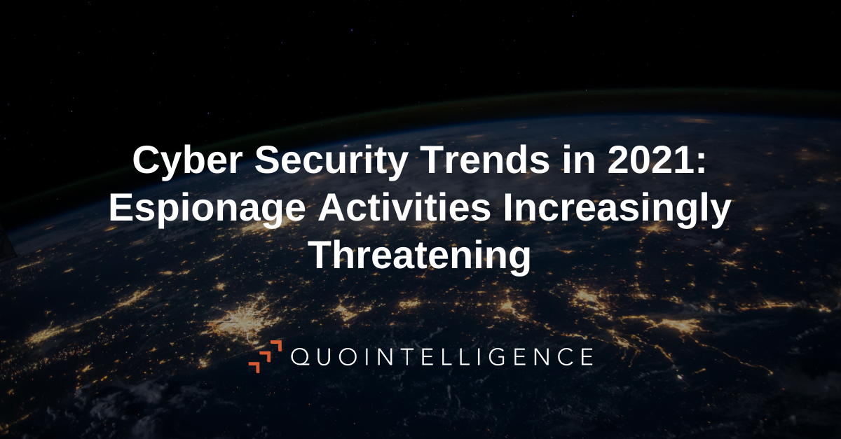 Link to Blog post Cyber Security Trends 2021