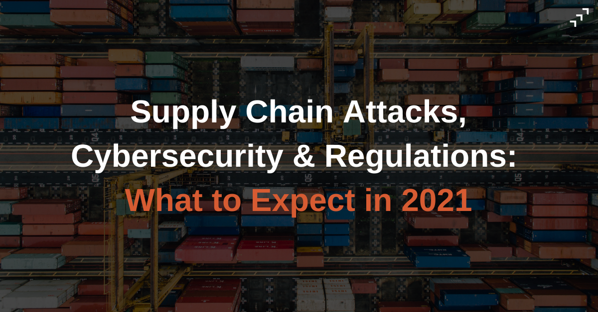 Link to blog post on Supply Chain Attacks