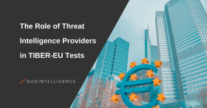 The Role of Threat Intelligence Providers in TIBER-EU