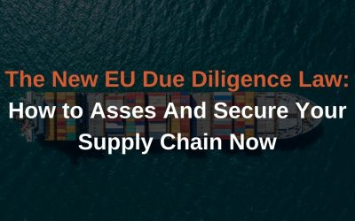 The New EU Due Diligence Law: How To Keep Your Supply Chain Secure Now