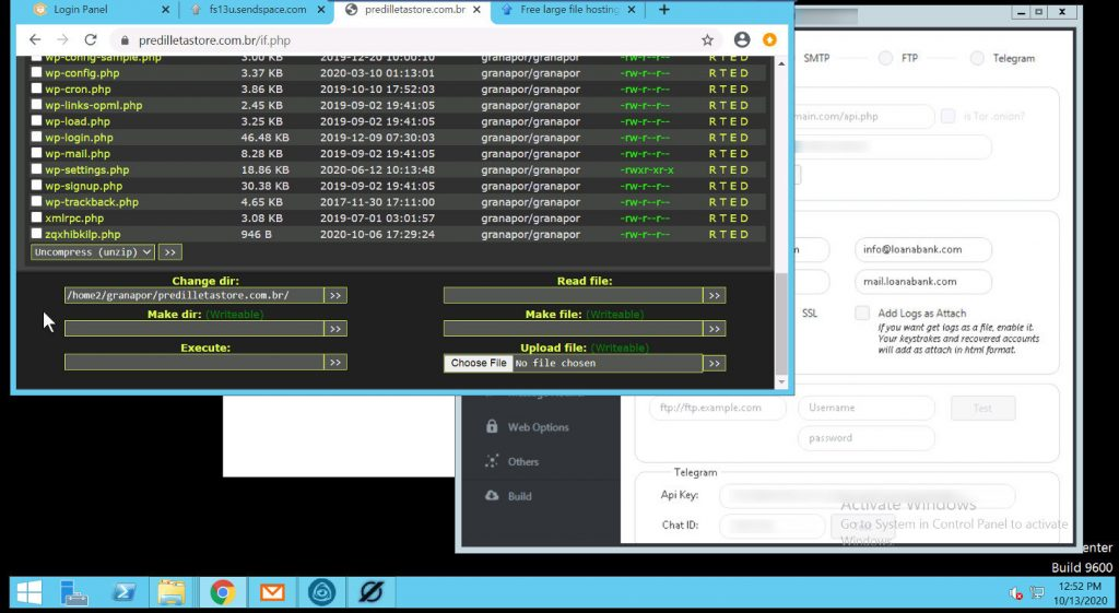 E.K.P.'s web shell on predilletastore[.]com[.]br