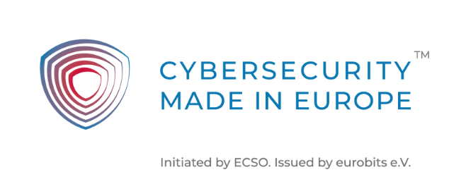 Image of the Cyber Security Made in Europe Label
