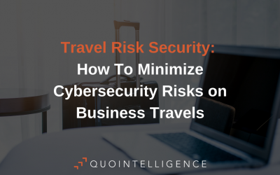 How To Minimize Cybersecurity Risks on Business Travels